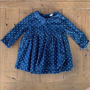 4/$20 gap polka dot dress